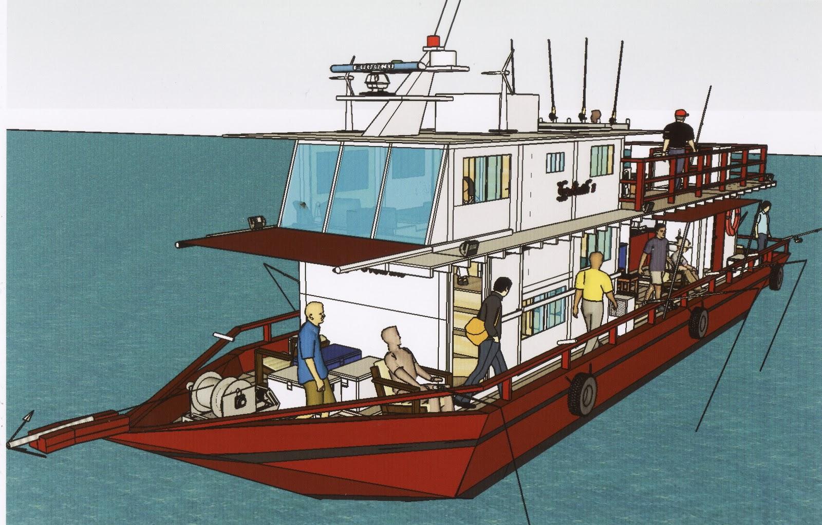 Diy boat building trip to kudat sabah for Build fishing boat