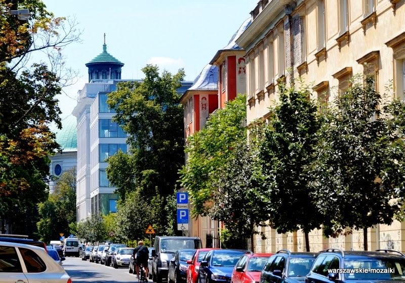 Warszawa Śródmieście Krakowskie Przedmieście pałac Czapskich
