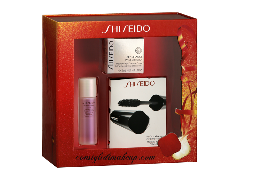 cofanetto natalizio shiseido