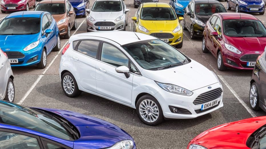 Ford Fiesta becomes UK's best-selling car of all time