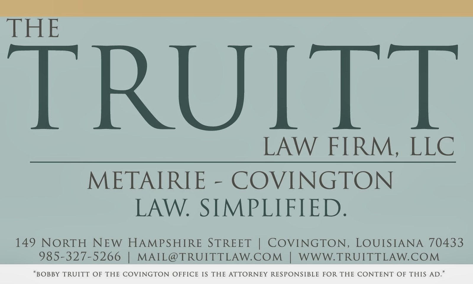 The Truitt Law Firm, Inc.