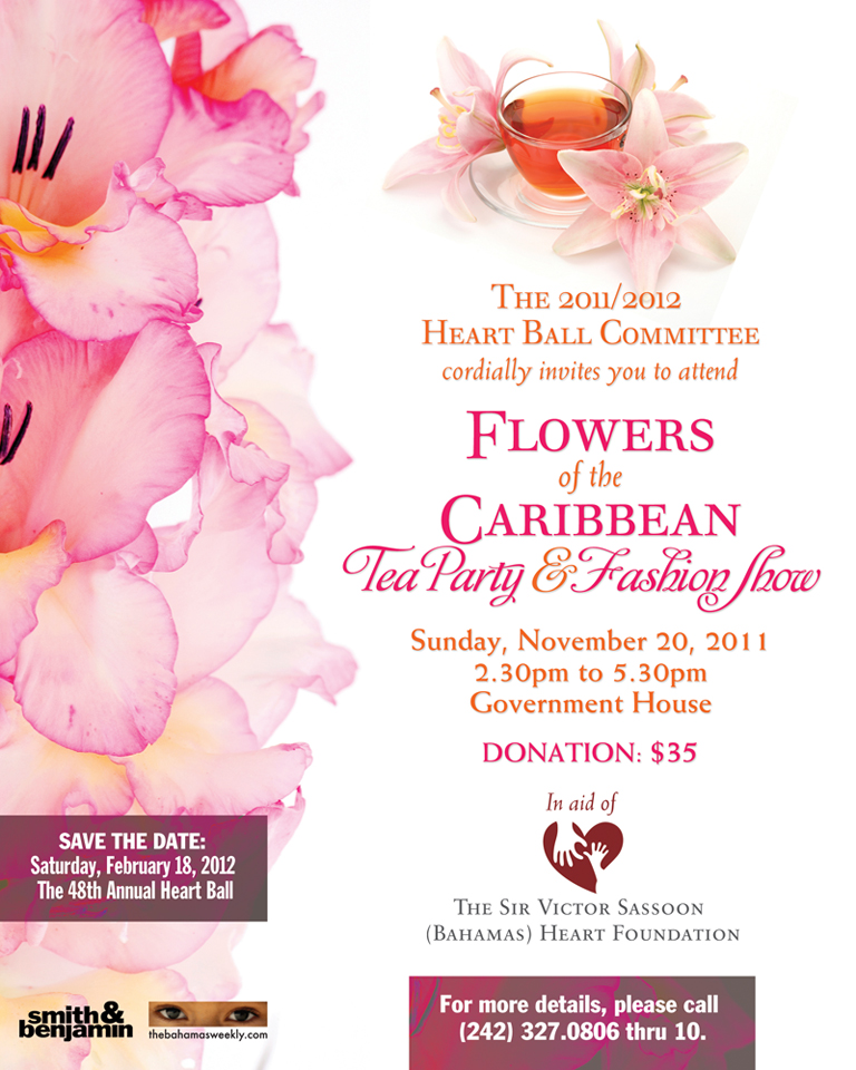 Native Stew :: Bahamas News: Heart Ball Tea Party & Fashion Show ...