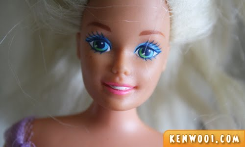 barbie face