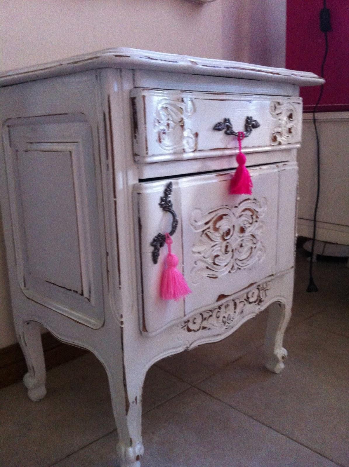 vintouch muebles reciclados pintados a mano mesa de