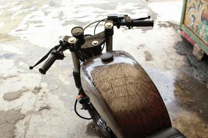 Modifikasi Motor Scorpio