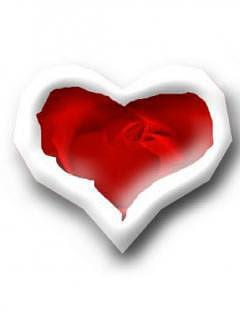 Bijelo-crveno srce download besplatne pozadine slike za mobitele