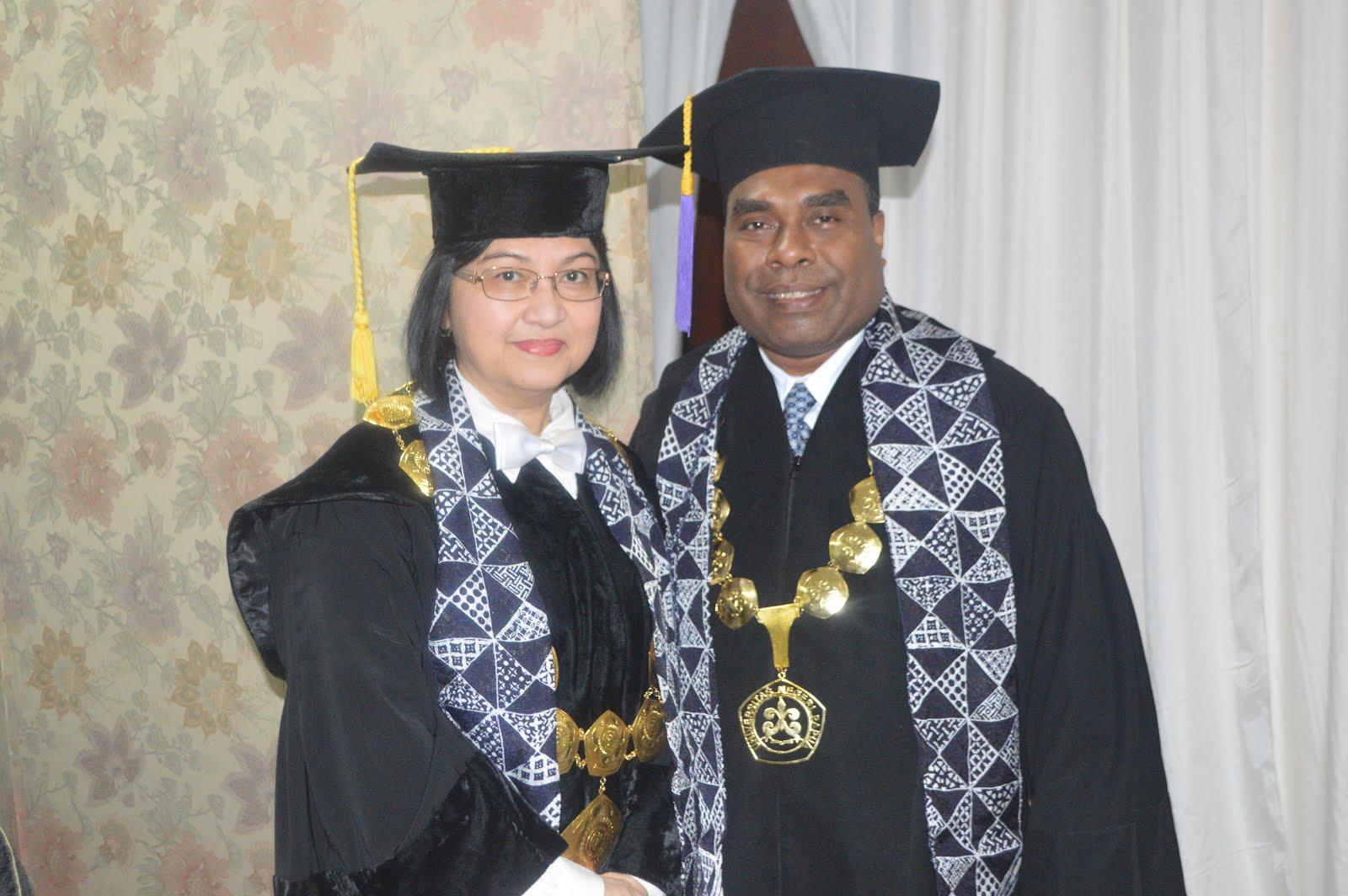 Dengan Rektor Universitas Sriwijaya