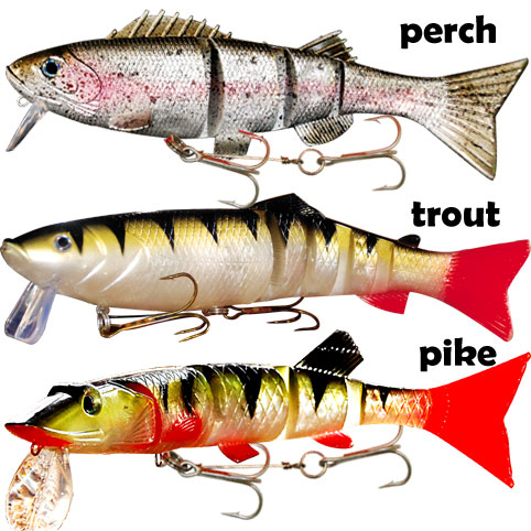 Pike fishing lures fishing reels for Pike fishing lures
