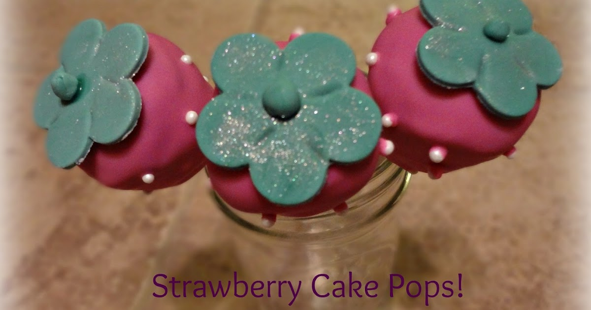 The Gluten Free Wife Pink Strawberry Cake Pops
