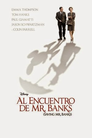 Poster Saving Mr. Banks 2013