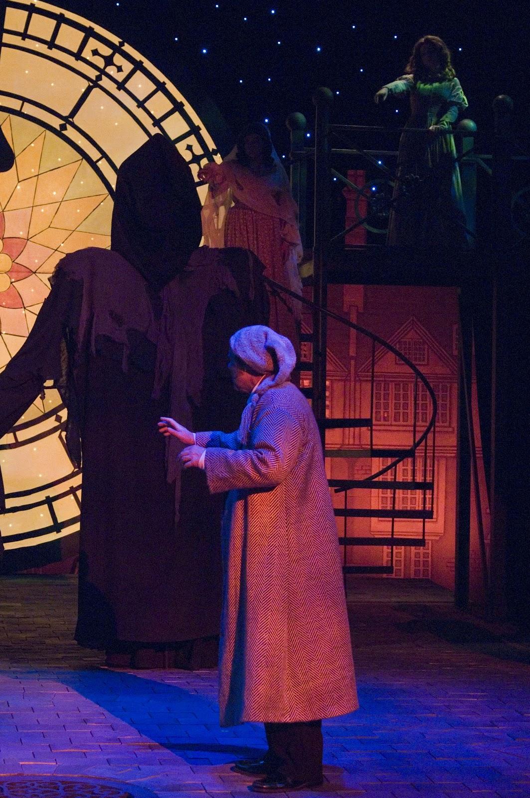 The Theatrical Designs of Gary Benson: A Christmas Carol--Lighting ...