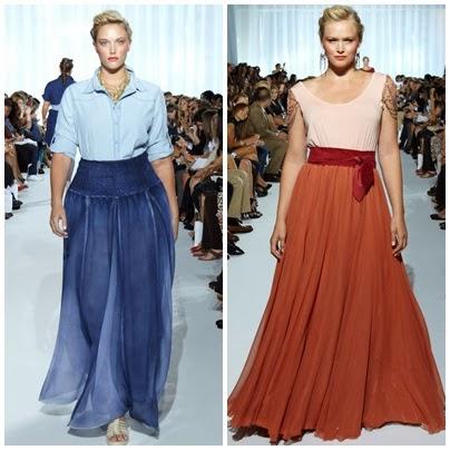 saias longas para mulheres baixas