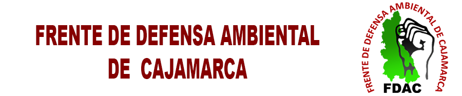 FRENTE DE DEFENSA AMBIENTAL DE CAJAMARCA