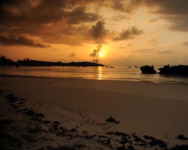 Sunset in Malindi - Kenya
