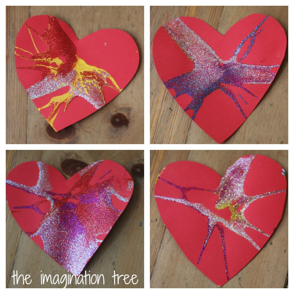 spin art heart cards for valentines day the imagination tree