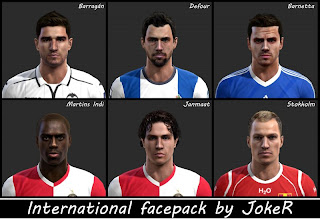 International Facepack PES 2013 by JokeR