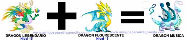 como sacar el dragon musica en dragon city combinacion 1