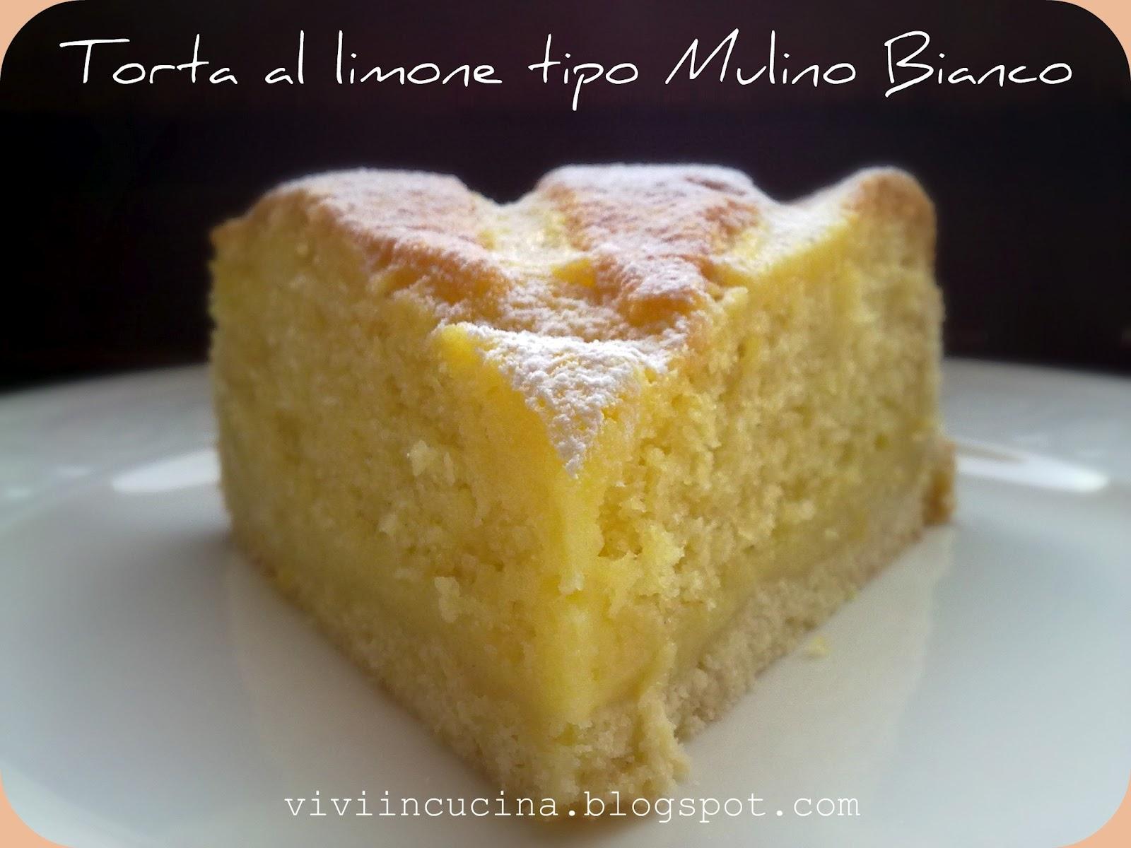 Ricetta torta limone e vaniglia
