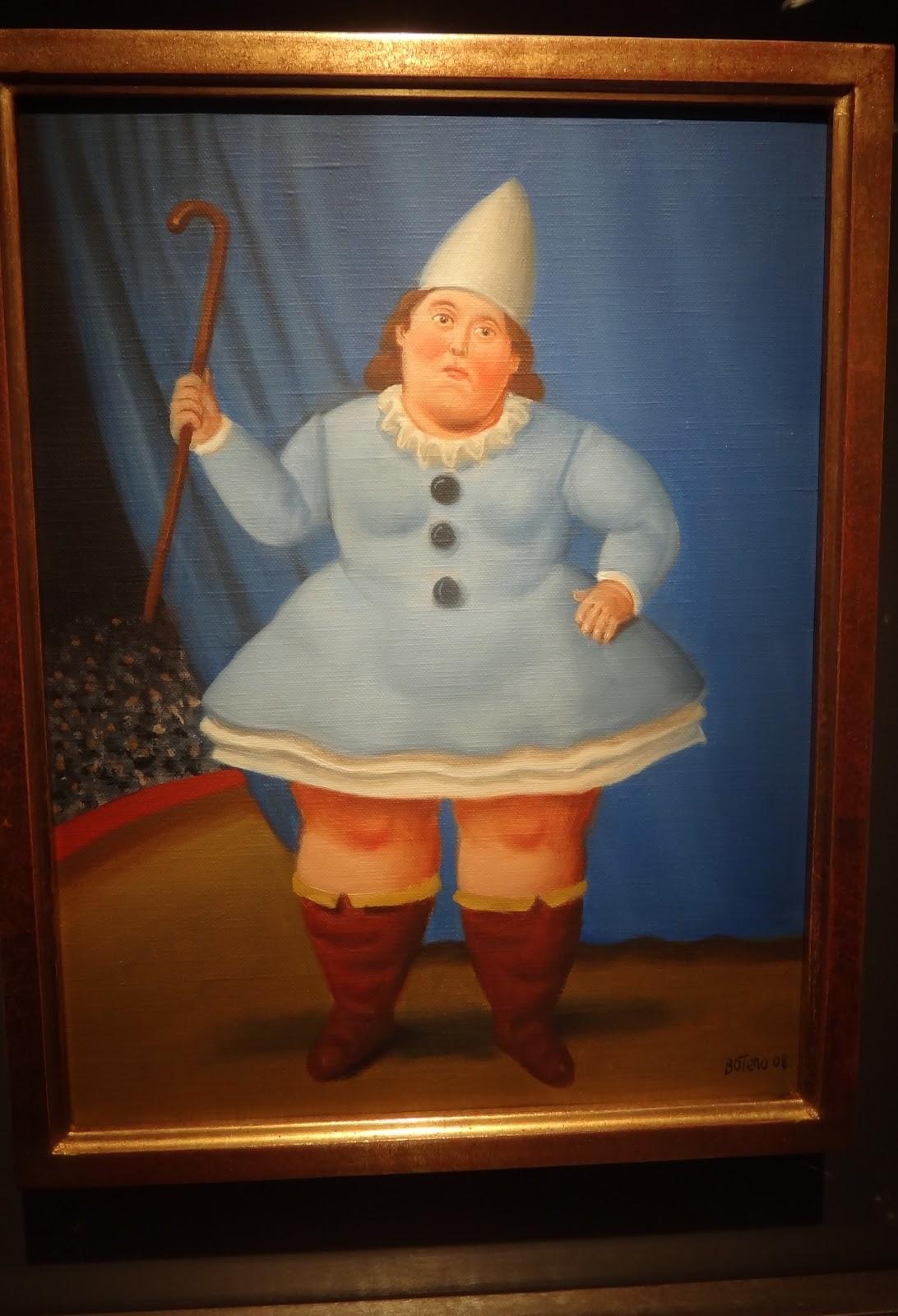 Fernando Botero - Circus Girl