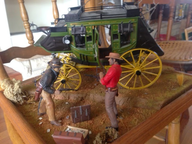 Laurel dr estate sale stagecoach diorama