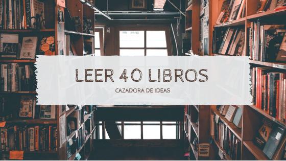 Reto: 40 libros