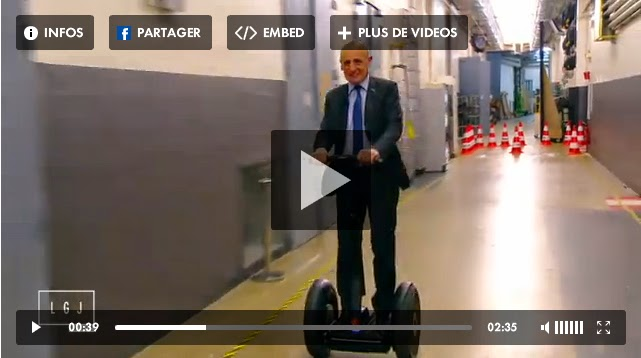 Segway grand journal canal+