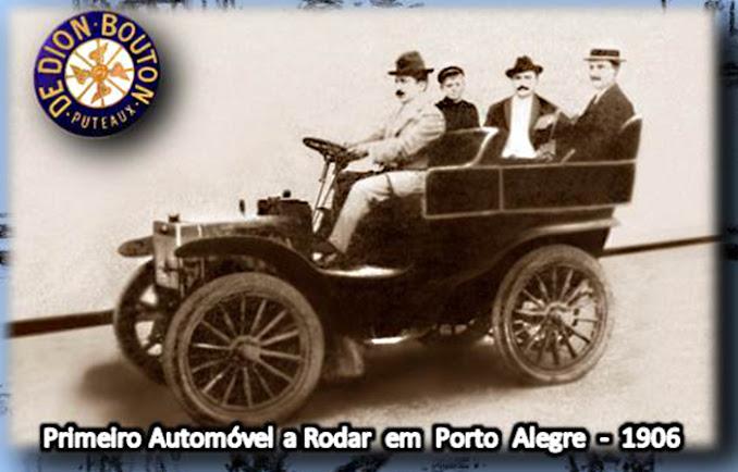 Primeiro Automóvel da Cidade de Porto Alegre - 1906