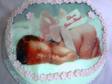 bolo de cha de bebe