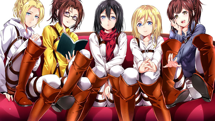 Anime Attack on Titan Girls
