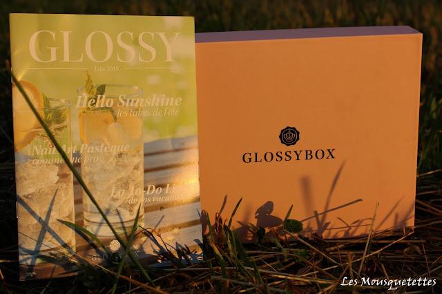 Glossybox de juin 2015 Hello Sunshine - Les Mousquetettes©