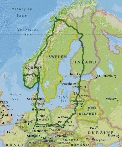 Trasa (7500 km)