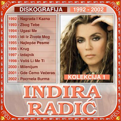 INDIRA RADIC – DISKOGRAFIJA (1992-2011) Indira+Radic+1-1