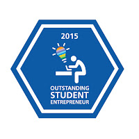 Outstanding Student Entrepreneur Badge 2015