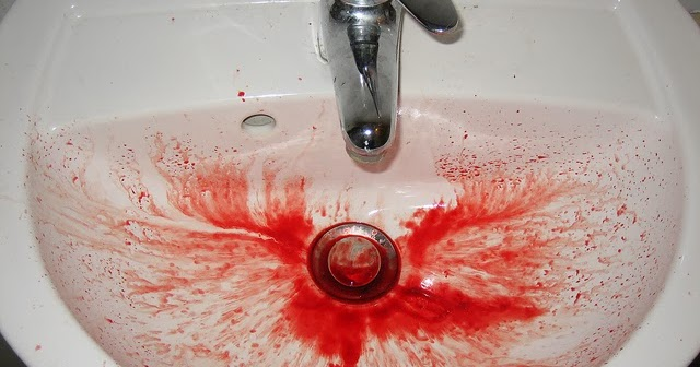 Urban Legends And Ghost Stories Bleeding Sink