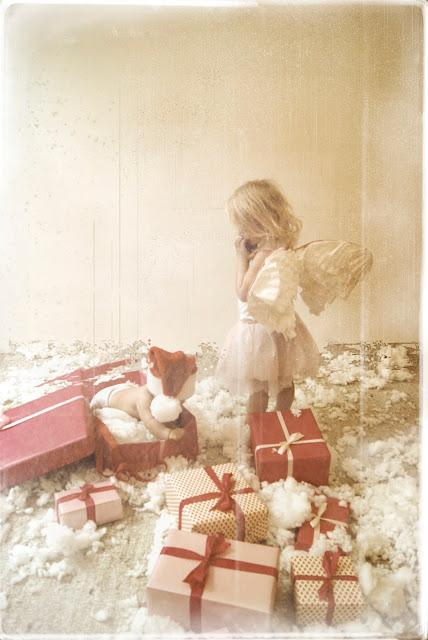 Weihnachtsmann Christkind