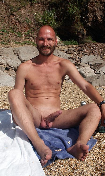At Beach Naked Natural Men On The Pics Nude