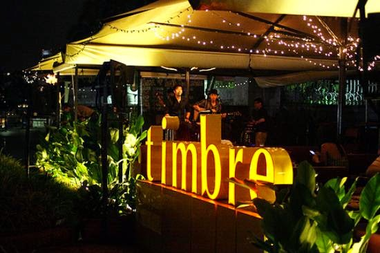 Timbre at the Arts House Raffles Place