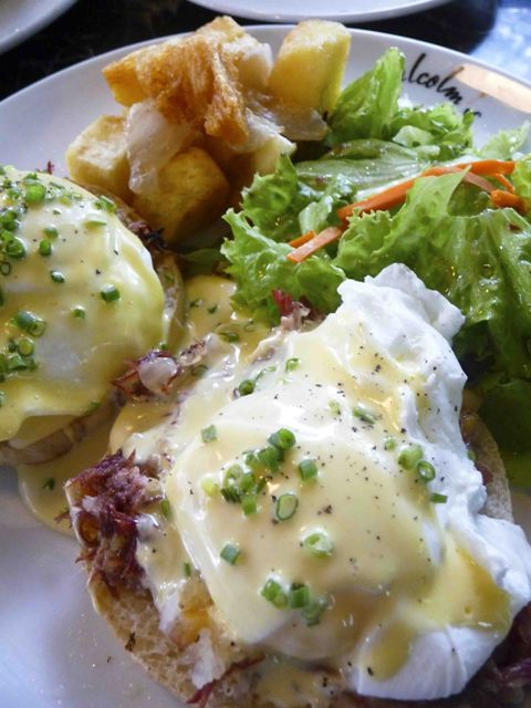 Irish Benedict at Malcolm's Deli