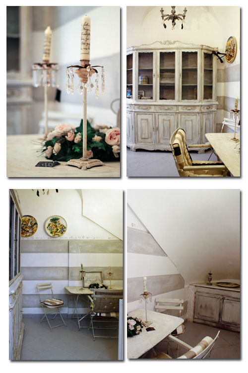 shabby and gustavian style
