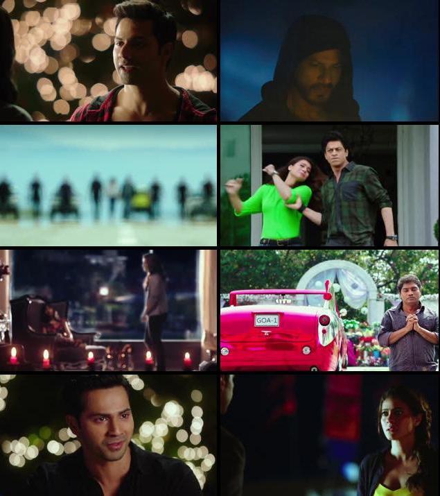 Dilwale 2015 Hindi 480p WEB HDRip 400mb
