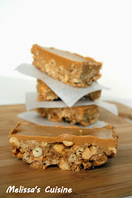 Melissa's Cuisine:  Sweet and Salty Peanut Granola Bars