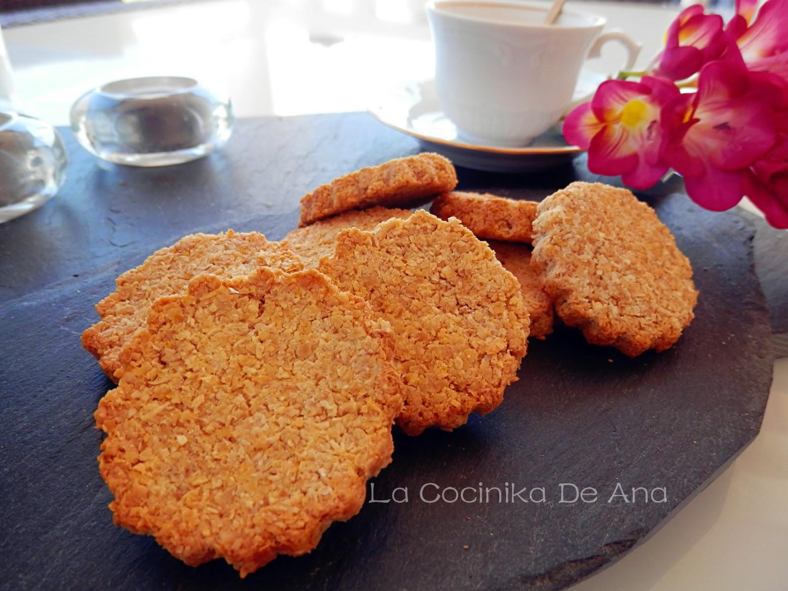 La Cocinika De Ana Galletas De Avena Y Coco Sin Azúcar Ni Harina