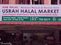 Usrah Halal Market, Shah Alam - Hanya Barangan Muslim Halal