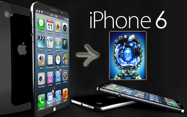iPhone 6 display made by sapphire crystal