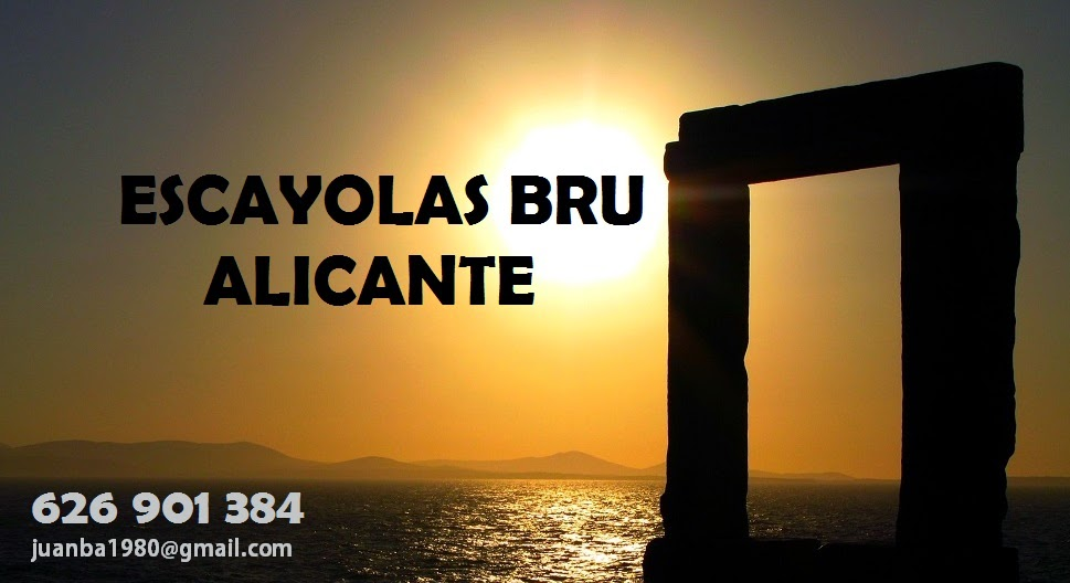 Escayolas Bru Alicante