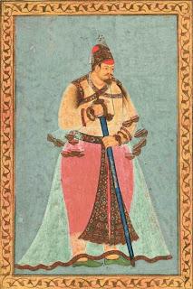 Ibrahim 'Adil Shah II (r.1579-1627), a 17th-century Deccani painting