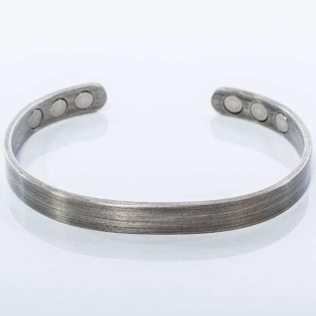 Lifestylet Magnetic Therapy Bracelet in Silver