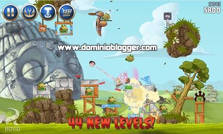 Descarga Angry Birds Star Wars II gratis para tu telefono con Android.
