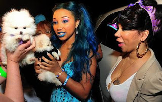 Kemi online tiny amp t i daughter zonnique at sweet 16