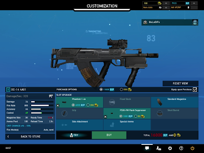 Ghost Recon Online - Accuracy 66 SMG Stats